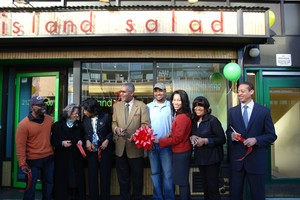 Island Salad Opening